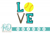 Biggest Fan - Softball Love - Love Softball SVG example image 1