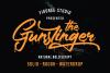 The Gunslinger - 3 Style Font example image 1