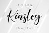 Kinsley Script example image 1