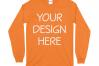Gildan 5400 Long Sleeve Tshirt Mockups-16 example image 14