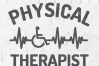 Physical therapist svg, physical therapy svg, ekg svg dxf example image 2