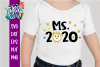 Ms 2020 New Years SVG example image 1