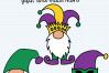 Mardi Gras Gnomes SVG, Silhouette and Cricut Cut Files example image 6