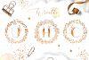 ROSE GOLD WEDDING SET example image 14