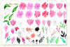 Watercolor Floral Cliparts example image 2