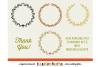 FLORAL MEGA BUNDLE 30 wreath, laurel, heart leaf frames SVG example image 6