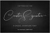 Creative Signature Font example image 4