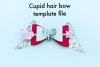 Hair bow template bundle #2 - hairbow svg files - diy bows example image 7