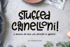 Stuffed Cannelloni - a deliciously fun font! example image 1