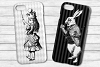 Black and White Alice in Wonderland Graphics example image 8