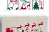 SVG Christmas Sign Bundle Vector, Cut File, Clip Art FWS478 example image 2
