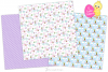 easter bunny digital paper, Easter seamless patterns -P38 example image 2