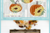 Autumn Fall Quotes Pumpkins And Sunflowers Mini SVG Bundle example image 9