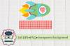 Rocket Valentine Design, PNG sublimation download, side view example image 1