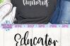 Educator of Tiny Humans SVG, Teacher SVG example image 2