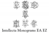 Intellecta Monograms EA EZ example image 4
