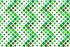 24 Seamless Green Square Patterns example image 3