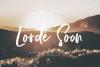 Lorde Soon - Elegant font example image 1