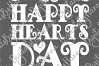Happy Hearts Day Valentine's Sign Print & Cut File PNG SVG example image 6