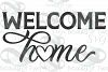 Welcome Home sign svg, Home Farmhouse svg and png, Home svg example image 3