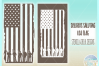 Usa Flag Soldiers Military Stencil Decal SVG DXF EPS PNG PDF example image 2