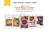 Food Lovers Recipe and Cookbook Canva Template Ebook example image 12