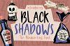 Black Shadows Font example image 1