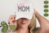 LAX Mom & Bonus Team Lacrosse Mom Sports SVG Cut File example image 1