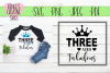 Three and fabulous | Birthday | SVG Cutting File example image 1