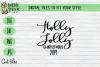 Holly Jolly Christmas 2019 - Christmas, Xmas SVG cut file example image 1
