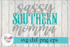 Sassy Southern Momma SVG Cutting Files example image 1