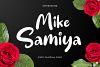 Mike Samiya Font example image 1