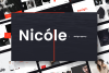 Nicole PowerPoint Template example image 1