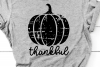Grunge Pumpkin Svg, Distressed Svg, Thanksgiving Svg Pumpkin example image 1