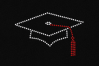 Rhinestone Graduation Cap SVG Template Set example image 2