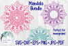 Huge Mandala Bundle | 36 SVG Cut Files example image 10