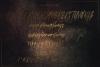 Gold Mastey Artictic Brush Font example image 9