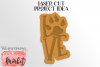 Love Pawprint SVG DXF EPS PNG example image 3