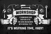 Workshop Emblems On Dark example image 1