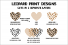 Leopard Heart - Buffalo Plaid Love - Valentines Day SVG example image 4