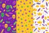 12 Mardi Gras Seamless Patterns example image 2
