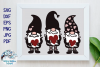 Gnomes with Hearts SVG | Valentine's Day Gnome Sign SVG example image 1
