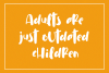 Cuties Magenta - Playful Font - example image 3