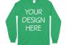 Gildan 5400 Long Sleeve Tshirt Mockups-16 example image 8