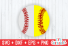 Split Baseball | Softball | SVG Cut File example image 1
