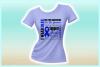 I WEAR BLUE Colon Cancer Awareness SVG DXF EPS PNG PDF file example image 2