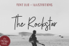 The Rockstar Font Duo example image 1