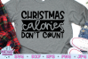 Christmas Calories Don't Count SVG, Christmas SVG, Funny example image 1