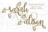 Britany Script Monogram Font example image 3