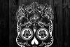 Sugar Skull SVG cut file example image 5